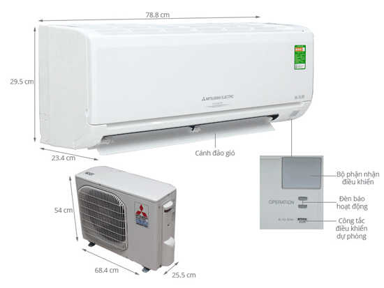 may-lanh-mitsubishi-electric-MSY-GH18VA
