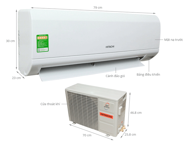 hitachi-ras-x10cd-1hp-inverter