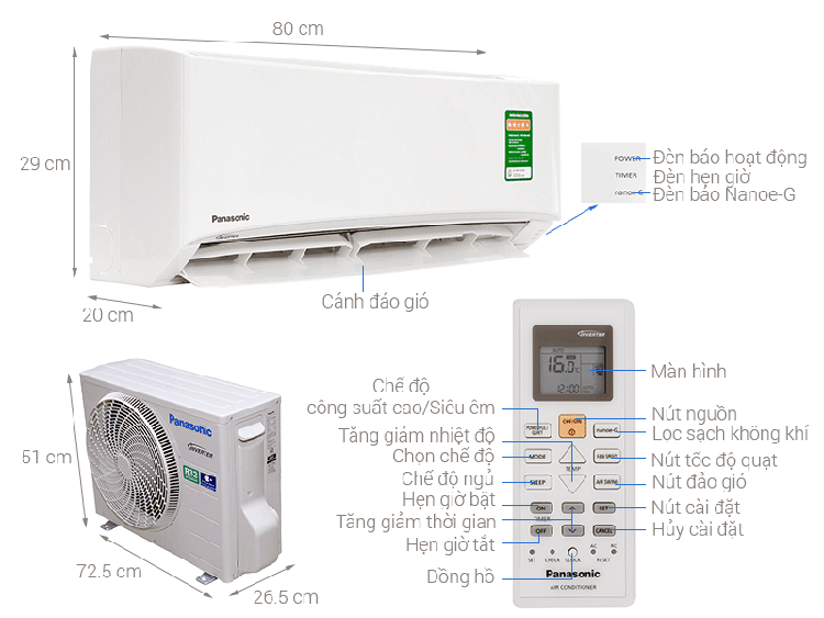 may-lanh-panasonic-pu12ukh-inverter-1hp