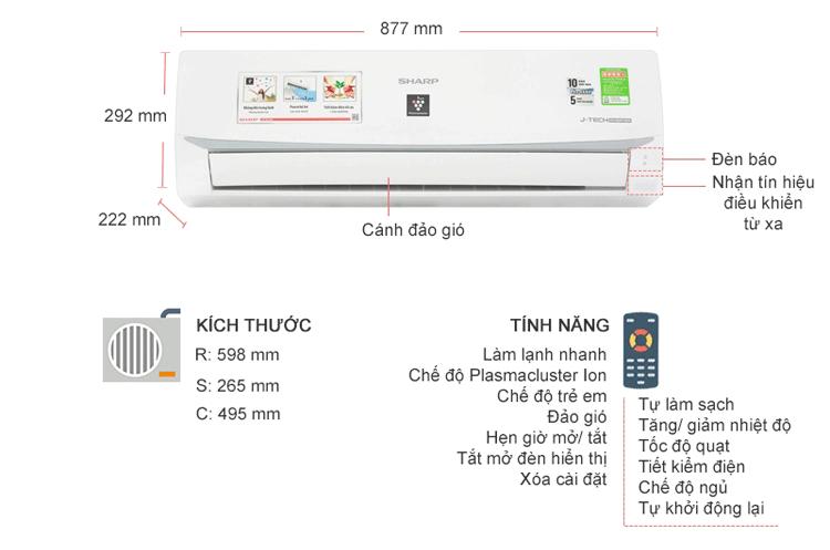 sharp-inverter-AH-X10wmw